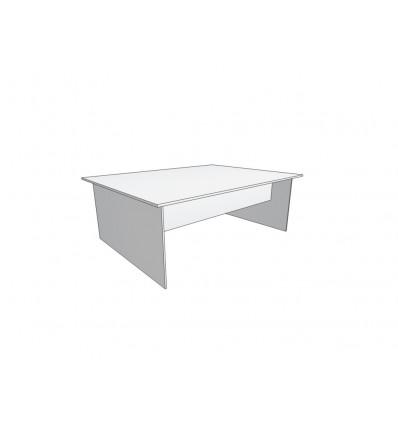 Стол раскройный без полки 240х180х85см (цвет белый)